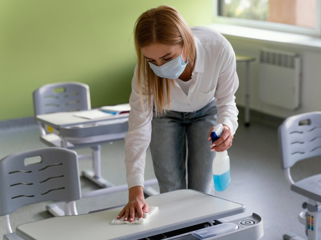 School Cleaning checklist